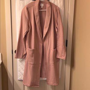 Cozy pink 14th &union cardigan